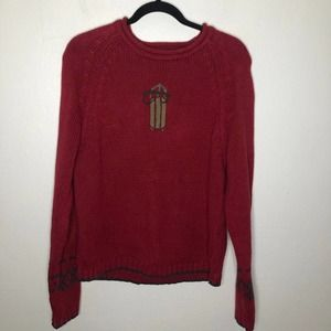 Vintage Woolrich Chunky Knit Sweater Medium
